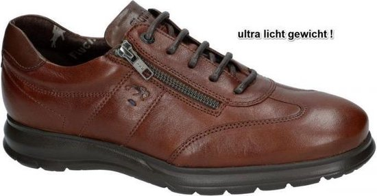 Fluchos -Heren -  cognac/caramel - casual / weekend - maat 39