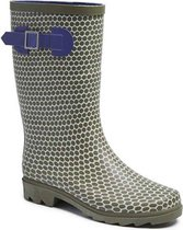 Gevavi Boots Romy kinder en dameslaars pvc grijs panter