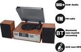 Denver MRD-52Lightwood, Music center met DAB+ radio en cd speler - Licht hout