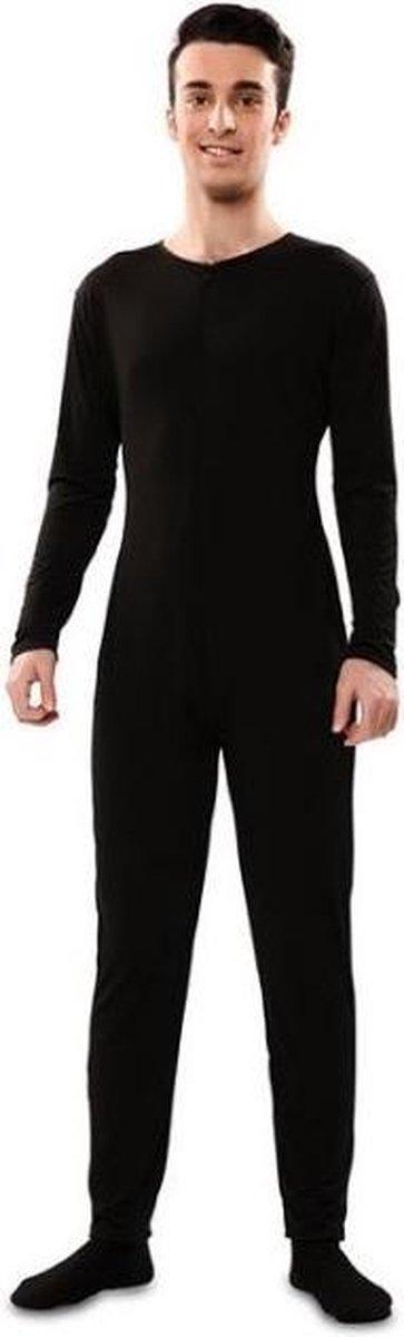Witbaard Onesie Heren Polyester Zwart Maat M/l