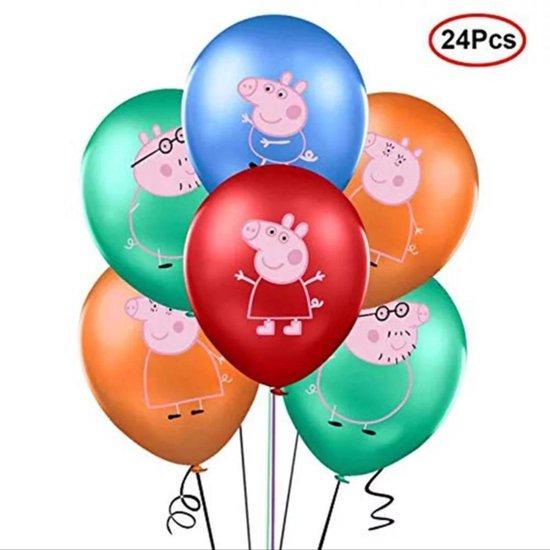 PEPPA-PIG-EN-FAMILIE-LATEX-BALLON
