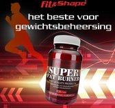 Fit & Shape Fat Burners (120 capsules) met Quercetine, Groene Thee & L carnitine