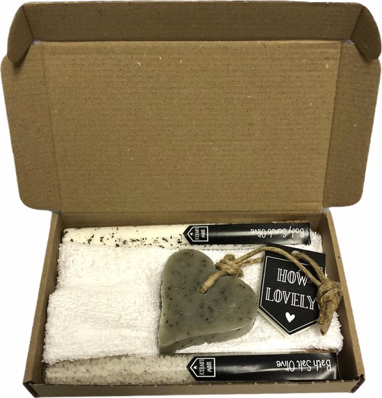 Me time brievenbuspakket 1 - verwenpakket - moment voor jezelf - cadeau voor vrouwen - badzout - cadeau pakket - brievenbuspakket - kerst - kerstpakket - sinterklaas - black friday deals 2020