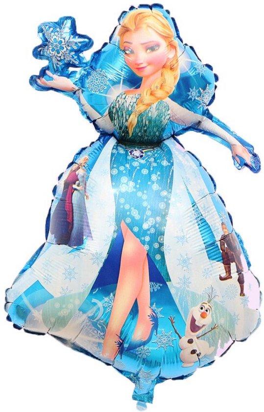 Elsa Ballon - Disney - Frozen - Frozen 2 - Disney Princess - Ballonnen Verjaardag - 93 x 55 cm - Ballon Groot - Ballon Film