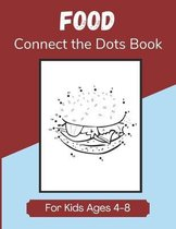 Food Connect the Dots Book for Kids Ages 4-8