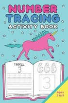 Number Tracing Activity Book