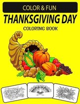 Thanksgiving Day Coloring Book