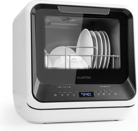 Klarstein Amazonia - mini-afwasmachine - Zwart
