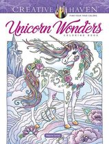 Creative Haven Unicorn Wonders Coloring Book