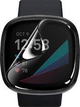 Screenprotector voor Fitbit Versa 3 – Sense – Bescherm Folie 3-Pack