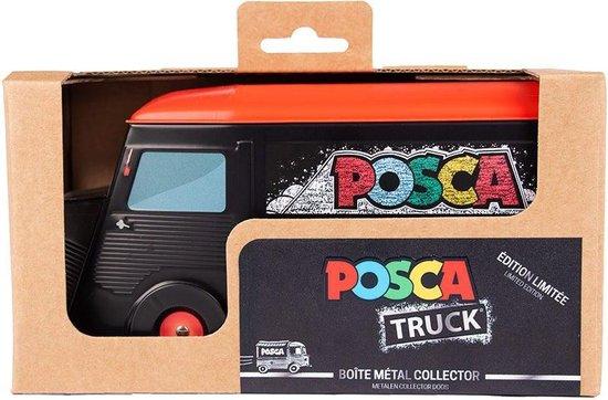 Posca Opbergdoos - Metalen Truck - Collectorsitem