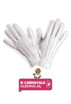 Luxe handschoenen Sinterklaas | Sint handschoenen | Mooie witte handschoenen Sint verschillende maten L