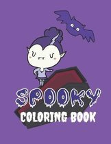 Spooky Coloring Book