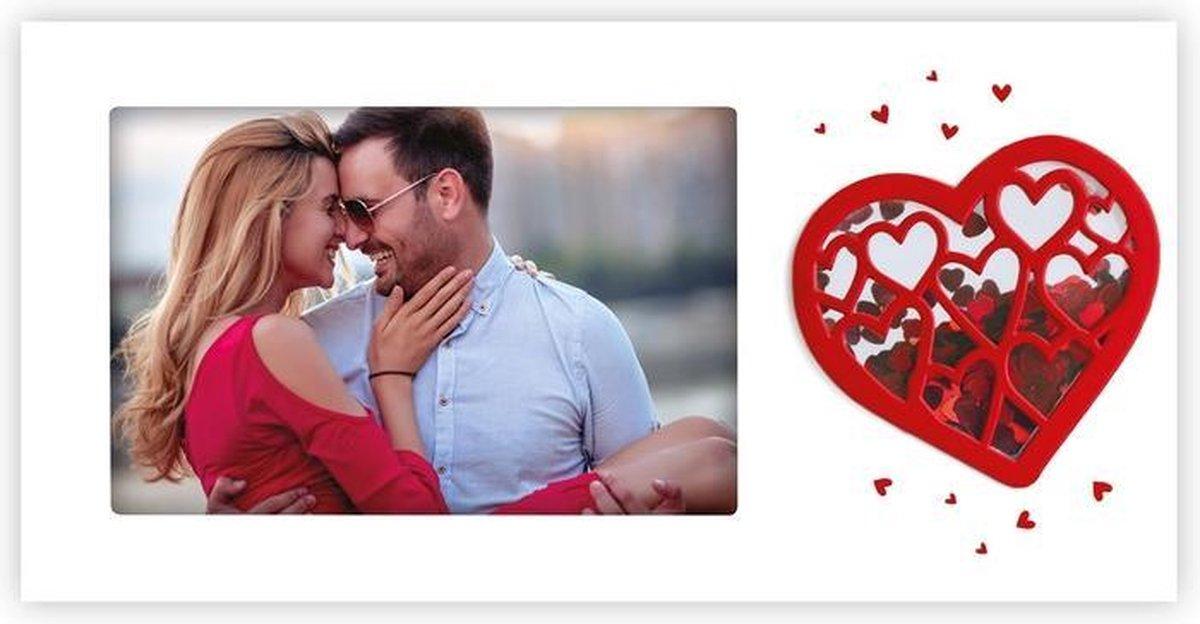 ZEP - Romantische Fotolijst Lia voor foto 10x15 afmeting 21x18 cm - LD2464