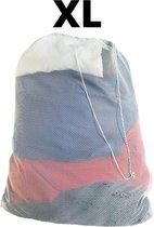 Orange85 Waszak - Groot - XL - 60 x 90 CM - Wit - Treksysteem - Trekbandsluiting - Laundry bag - Wasnet wasmachine - Bedrijfskleding - Polyester