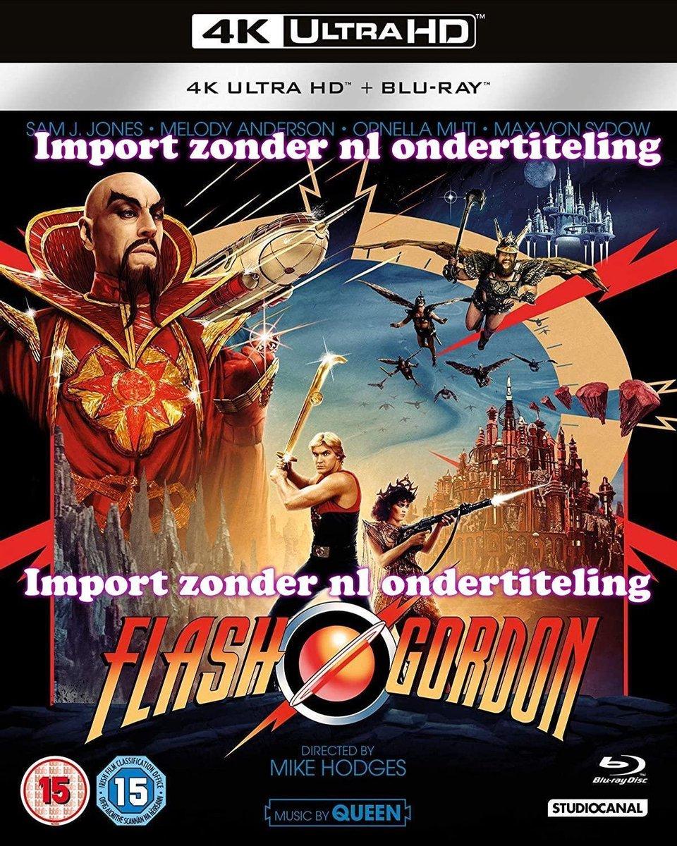 Flash Gordon 40th Anniversary [4K Ultra HD + Blu-ray] [2020]-