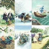 Inge Look Postkaart set1 (nu1-6)