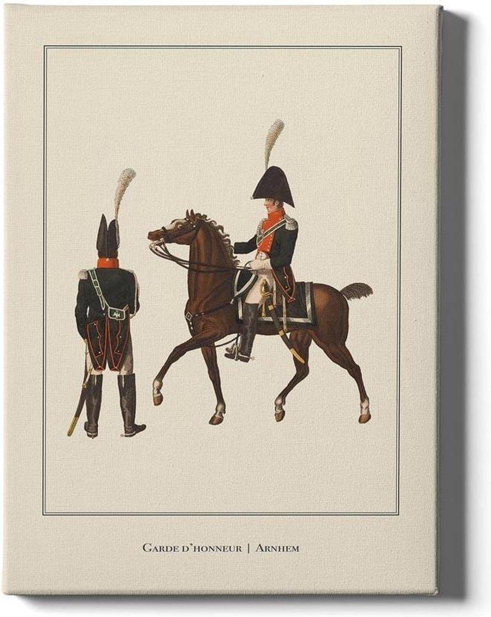 Garde d'honneur Arnhem - Walljar - Muurdecoratie - Poster