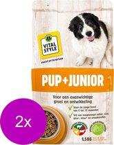Ecostyle Junior - Hondenvoer - 2 x 1.5 kg
