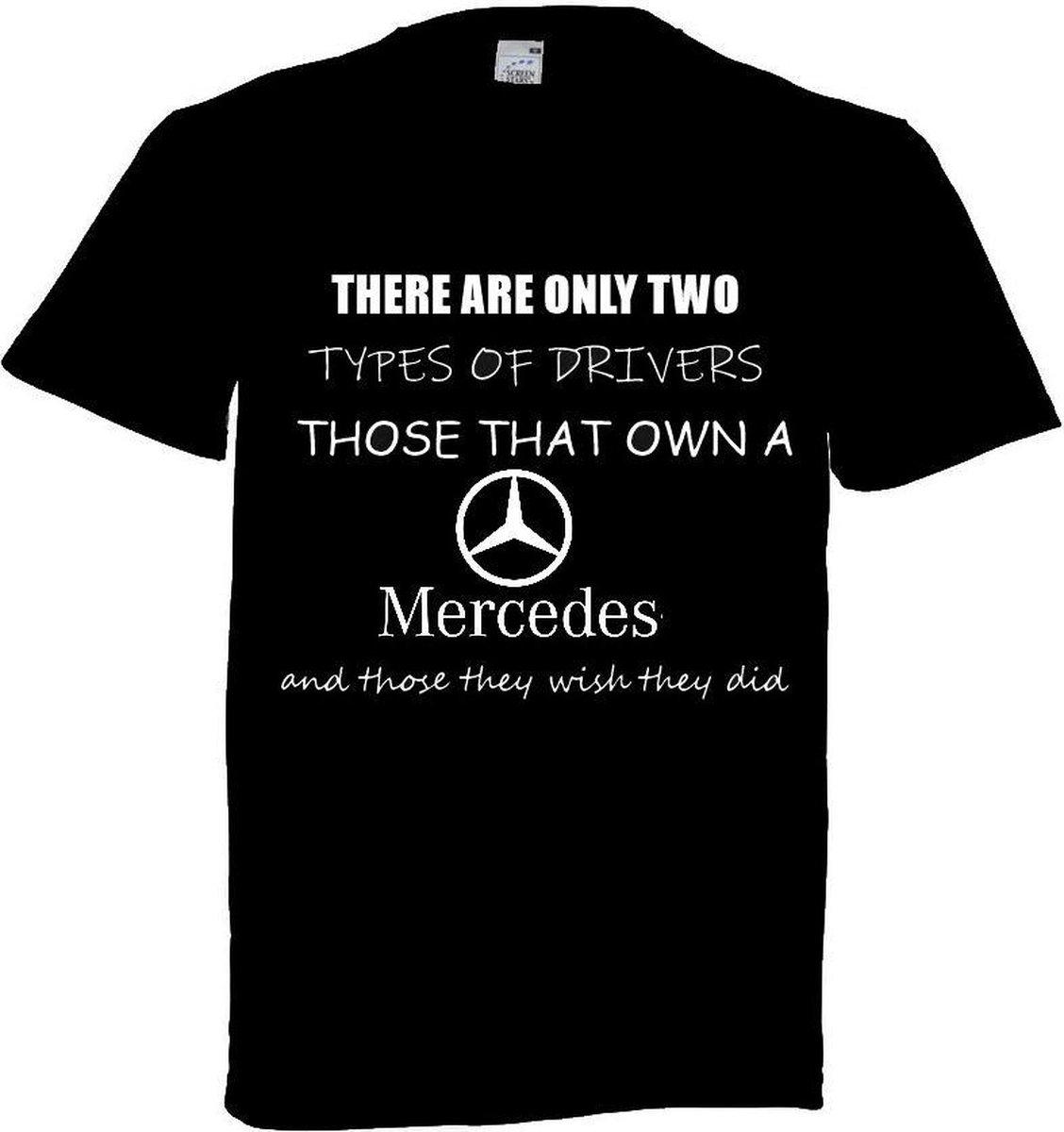 Mercedes t shirt maat L