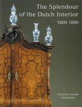 Boek cover The splendour of the Dutch interior 1600-1800 van R.J. Baarsen