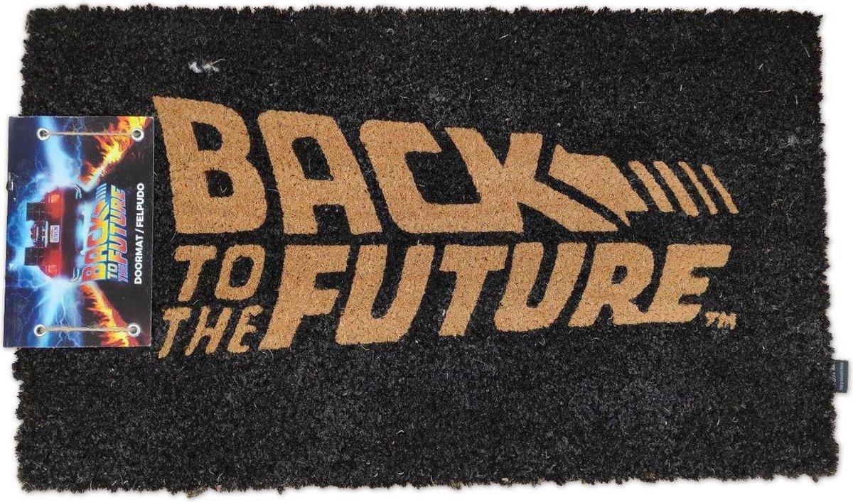 BACK TO THE FUTURE - Doormat - Logo  - P.Derive