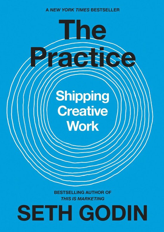Boek cover The Practice van Seth Godin (Hardcover)