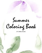 Summer Coloring Book for Young Adults and Teens (8x10 Coloring Book / Activity Book)