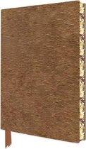 Textured Bronze Artisan Notebook (Flame Tree Journals)