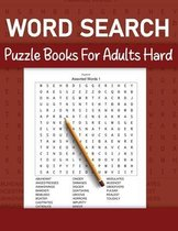 Word Search Puzzle Books For Adults Hard