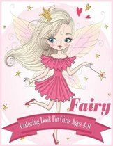 Fairy Coloring Book for Girls Ages 4-8