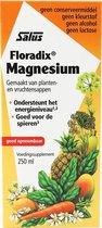 Salus Floradix Magnesium – Voor energie en spieren – Vloeibare magnesiummix van planten- en vruchtensappen – 250 ml