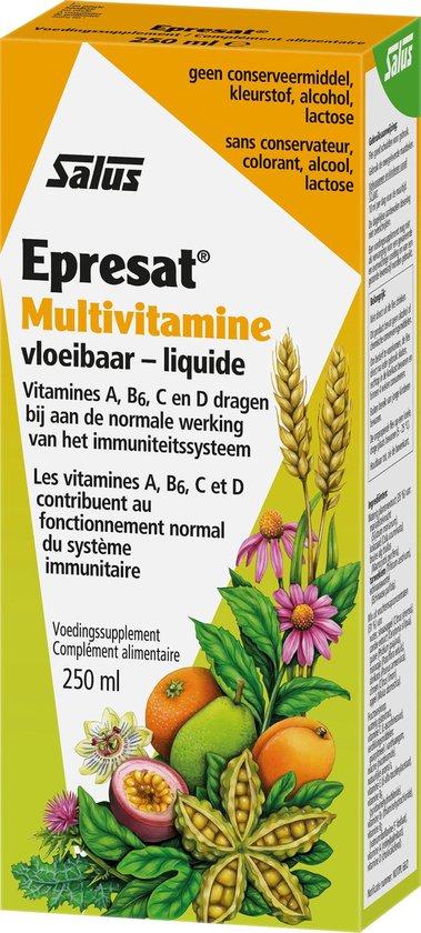 Salus Epresat Multivitamine – Weerstand – Vloeibare multivitamine – 250 ml