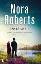 Boek cover De obsessie van Nora Roberts