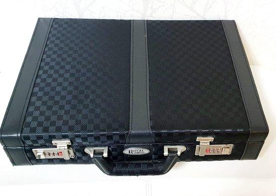 Royalty Swiss Line Bestekset in gave koffer met cijferslot . - Royalty Swiss line
