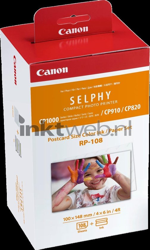 Canon RP-108 - Inktcartridge / Kleur + 108 papiersheets