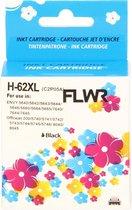 FLWR - Inktcartridge / 62XL / Zwart - Geschikt voor HP