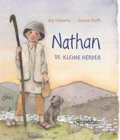 Boek cover Nathan de kleine herder van Aly Hilberts (Hardcover)