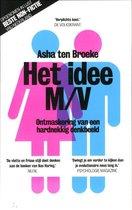 Boek cover Het idee M/V van Asha ten Broeke