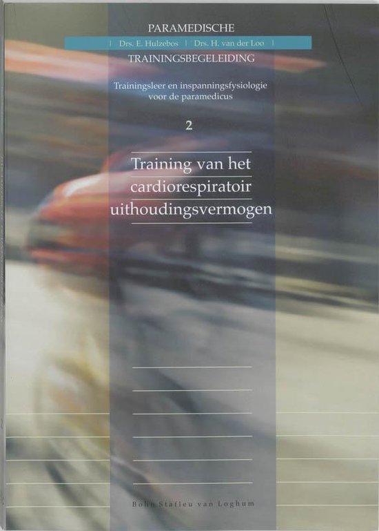 Boek cover Training van het cardiorespiratoir uithoudingsvermogen van H Van Der Loo (Paperback)