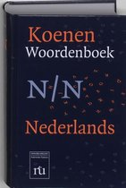 Boek cover Koenen Woordenboek Nederlands van M.J. Koenen (Hardcover)