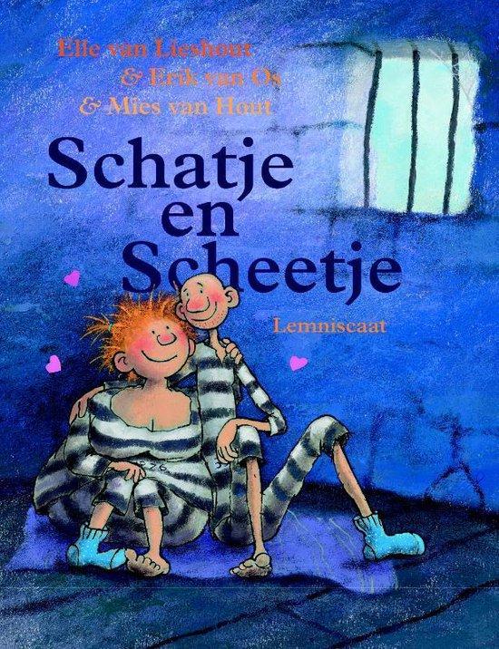 Boek cover Schatje en Scheetje van Elle van Lieshout (Hardcover)