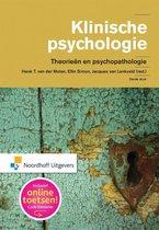Boek cover Klinische psychologie van Henk van der Molen (Hardcover)