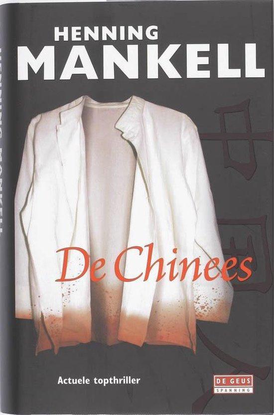 Boek cover De Chinees van Henning Mankell (Hardcover)