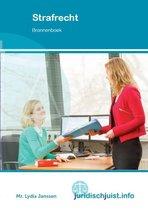 Boek cover MBO Recht  -   Strafrecht van Lydia Janssen (Paperback)