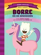 Boek cover Borre Leesclub  -   Borre en de eenhoorn van Jeroen Aalbers (Hardcover)