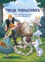 Boek cover Disney Frozen. Vrolijk verhalenboek. Twee superleuke avonturen met Anna, Elsa en Olaf! van Walt Disney Studios (Hardcover)
