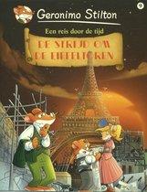 Boek cover De strijd om de Eiffeltoren van Geronimo Stilton