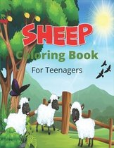 SHEEP Coloring Book For Teenagers
