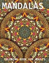 Mandalas Coloring Book For Adult